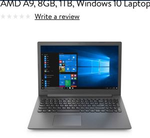 Lenovo 15.6 in laptop for Sale in St. Louis, MO