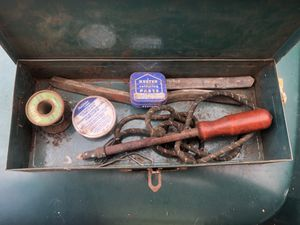 Antique soldering iron kit for Sale in Hoquiam, WA