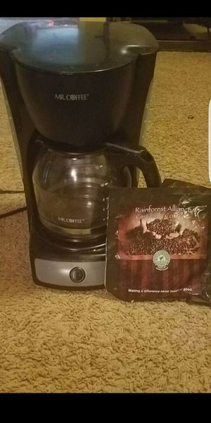 Coffee maker and coffee for Sale in Stone Mountain, GA