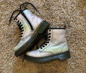 Dr. Martens Girls Glitter boot Size 12 for Sale in Ellenwood, GA