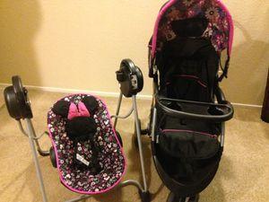 Babytrend Stroller and disney Sway N Play for Sale in Arlington, TX