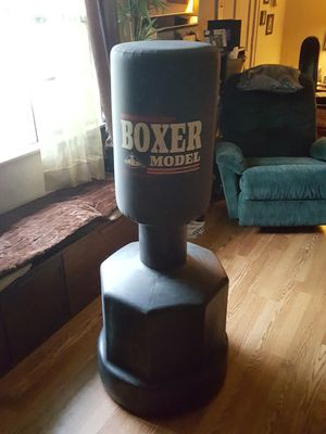 Wavemaster boxer standing punch bag, like new .Adjustable from leg, torso and head levels for Sale in Dunedin, FL