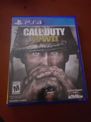 Cod wwii ps4 for Sale in Northumberland, PA