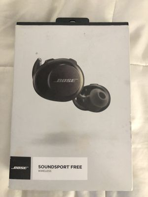 Bose Soundsport Free wireless earbuds for Sale in Grand Prairie, TX