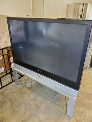 60 inch Samsung DLP TV with stand for Sale in Jurupa Valley, CA