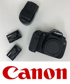 Canon EOS 60D frame only + 2 batteries and charger DSLR Camera for Sale in Chino, CA