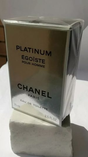 CHANEL EGOISTE PLATINUM POUR HOMME EAU DE TOILETTE for Sale in Chula Vista, CA