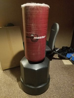 Free standing punching bag for Sale in Milford, CT
