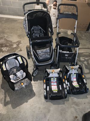 Chicco car seat stroller system for Sale in Pinson, AL