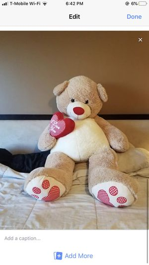 Huge Teddy Bear for Sale in Lockport, IL