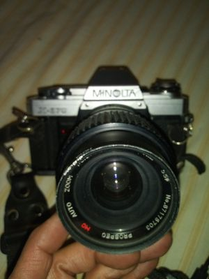 Minolta camera with strap n film for Sale in Fresno, CA