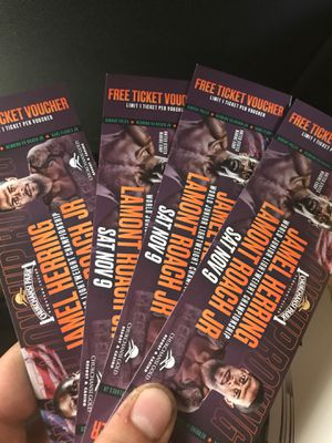 Fight tickets for Sale in Fresno, CA