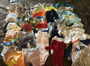 New bor baby boy clothes for Sale in Fresno, CA