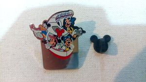 Disney World Blank 'Monorail Fab 4' Name Tag Pin for Sale in Henderson, NV