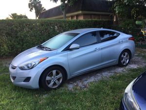 2013 Hyundai Elantra for parts for Sale in North Miami, FL