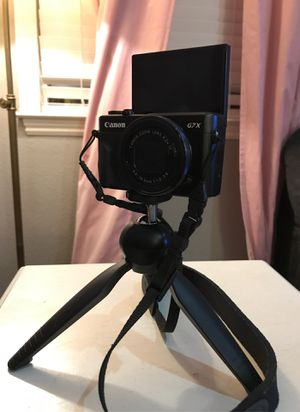 Canon g7x mark 11 camera for Sale in Vacaville, CA