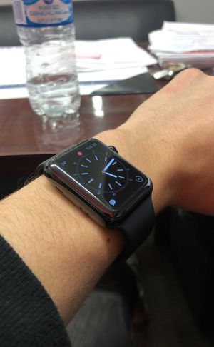 Apple Watch series 3 black chrome edition CELLULAR for Sale in Lewis Center, OH