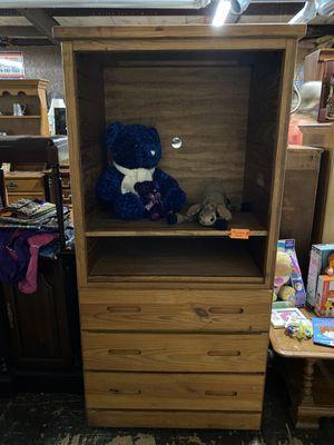 OR112 Wood Media Cabinet with adjustable shelf for Sale in Bellingham, MA