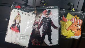 Vendo 3 disfrases 2 vestidos y un traje de niño for Sale in Woodbridge, VA