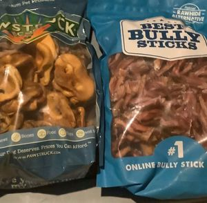 Almost 10lbs of Dog Treats Bully Sticks Etc $200 for Sale in Scituate, MA