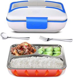 Electric Lunch Box, 110V Portable Bento Lunch Heater Heavy Duty Food Warmer with Removable 304 Stainless Steel Container for Home Office School for Sale in Ontario,  CA