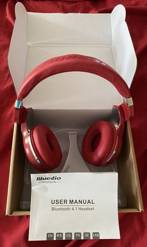 BlueDio Bluetooth Wireless Headset with Mic for Sale in Germantown, MD