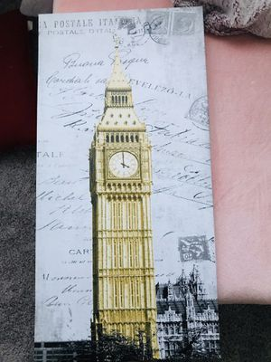 Big Ben canvas for Sale in Victorville, CA