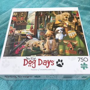 "NEW!!! 750 Piece Puzzle DOG DAYS ""PUPPY WORKSHED"" for Sale in Torrance, CA"