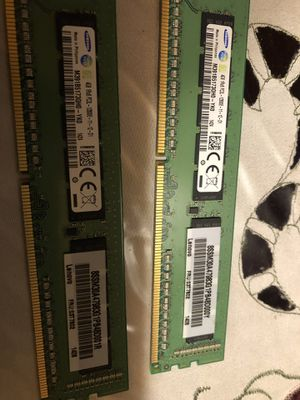 Ddr3 Ram 8GB (4x2) for Sale in Whittier, CA