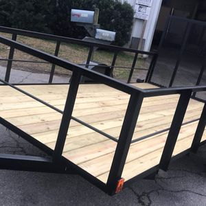 NEW 6x12 HIGH SIDE UTILITY TRAILERS $1500 for Sale in Columbia, SC