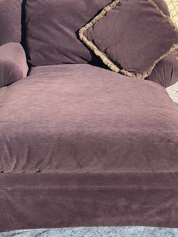 Purple Klaussner Furniture Chaise Lounge W/Pillow $140 FIRM for Sale in Clermont,  FL