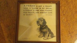 Great Dog Lover Humor Art. for Sale in Cairo, GA