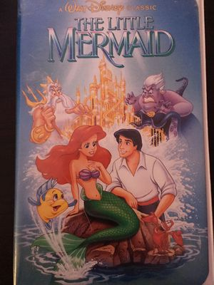 The Little Mermaid VHS tape for Sale in Pasco, WA