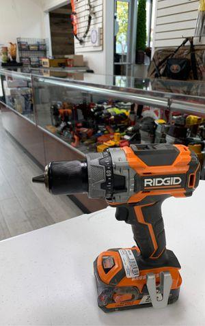 RIDGID cordless drill 18v battery for Sale in Dearborn, MI