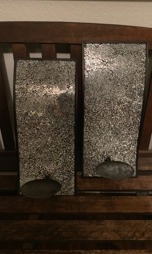 2 wall mount candle holders for Sale in Fresno, CA