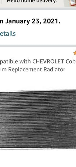 2007 Chevy Cobalt Radiator for Sale in Seattle,  WA
