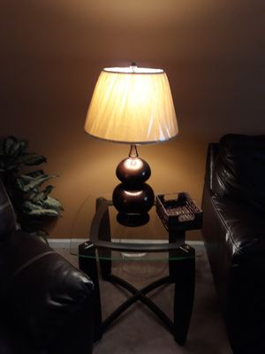 Two brown lamps for Sale in Chesapeake, VA