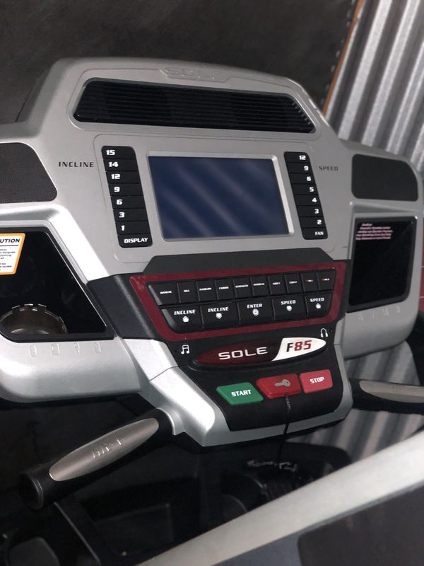Sole Fitness Treadmill