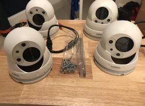 Uniden Cameras with Nightvision (cameras only) for Sale in Miami, FL