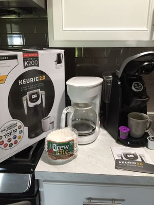 2 FOR1...Keurig 2.0 machine and 12 Cup Regular Coffee Maker for Sale in Kyle, TX