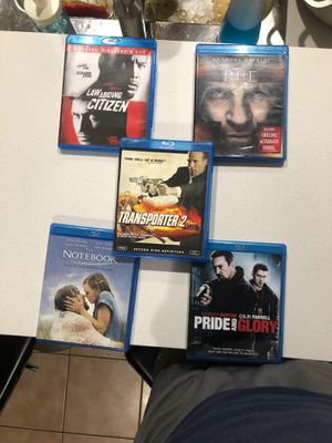Collection of movies (around 50) message me 5$ each movie for Sale in Miami, FL