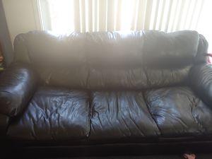 2 black couches for Sale in Park Ridge, IL