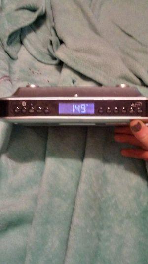 Bluetooth speaker/radio/alarm clock for Sale in Spokane, WA