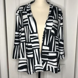 Hula Bay Black & White Cardigan Size M for Sale in New Port Richey, FL