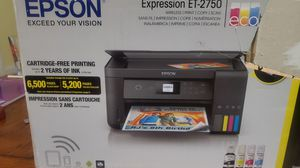 Epson Expression ET-2750 Printer for Sale in Greenville, NC