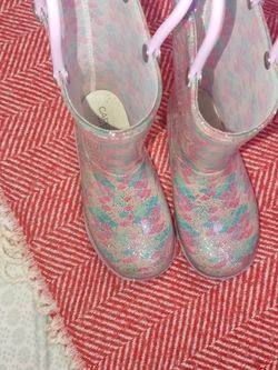 Girls Capelli New York Glitter Rain Boots for Sale in East Chicago,  IN