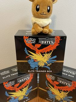 Pokémon Cards Hidden Fates Elite Trainer Box Factory Sealed Brand New for Sale in North Bend,  WA