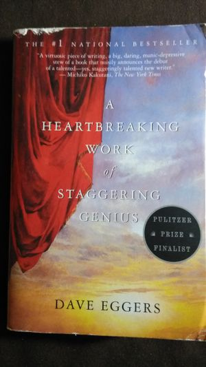 """""""A Heartbreaking Work of Staggering Genius"""" book, softcover, good condition! for Sale in North Las Vegas, NV"""