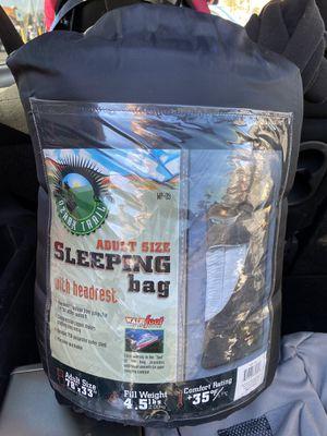 Adult Sized Sleeping Bag w/ Head Rest Ozark Trail for Sale in Las Vegas, NV