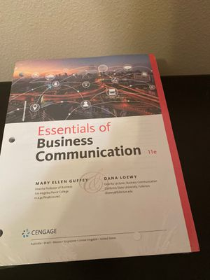 Essentials of Business Communication for Sale in Phoenix, AZ